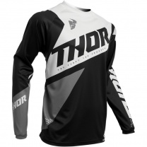 Thor SECTOR BLADE BLACK/WHITE JERSEY