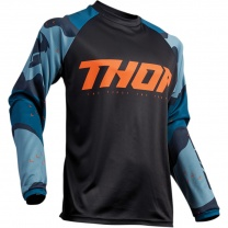Thor SECTOR BLUE CAMO JERSEY