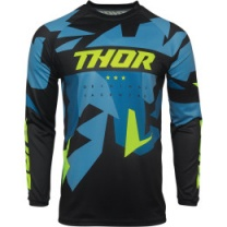 Thor Sector Warship Jersey Blue/Acid