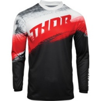 Thor Sector Vapor Jersey Red/Black