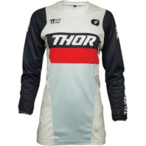 Thor Dámsky dres Pulse Racer Vintage White/Midnight